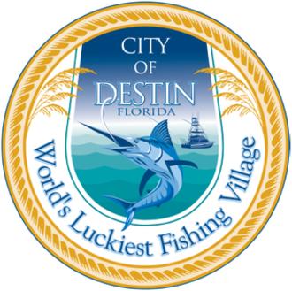 Destin, Florida - Image: Seal of Destin, Florida