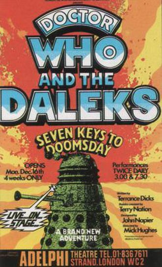 Doctor Who and the Daleks in the Seven Keys to Doomsday - Promotional poster for Doctor Who and the Daleks in the Seven Keys to Doomsday