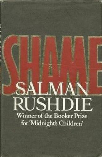 Shame (Rushdie novel) - First edition