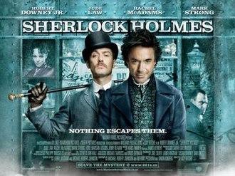 Sherlock Holmes (2009 film) - British film poster