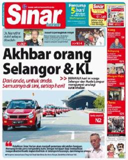 Malay language newspaper published in Shah Alam, Selangor, Malaysia