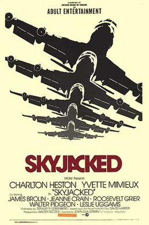 Skyjacked (film) - Theatrical poster