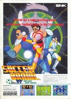 <i>Soccer Brawl</i> 1992 video game