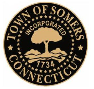 Somers, Connecticut - Image: Somers C Tseal