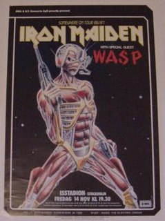 Somewhere on Tour 1986–1987 concert tour by Iron Maiden