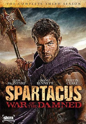 Spartacus: War of the Damned - Image: Spartacus season 3 poster