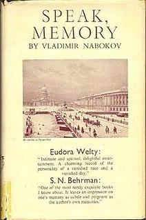 <i>Speak, Memory</i> book by Vladimir Nabokov