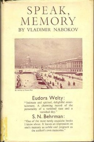 Speak, Memory - First UK edition