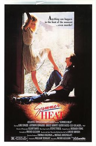 Summer Heat (1987 film) - Theatrical release poster