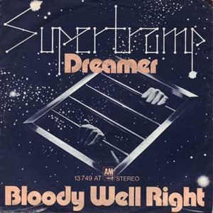 Dreamer (Supertramp song) - Image: Supertramp Dreamer single cover