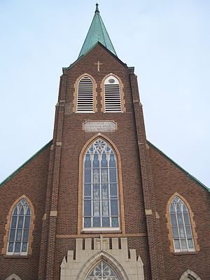 East Village (Des Moines) - Swedish Evangelical Lutheran Church in the East Village