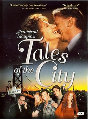 Tales of the City (miniseries) - DVD cover