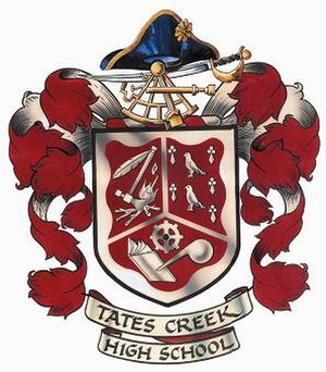 Tates Creek High School - Image: Tates Creek High School crest