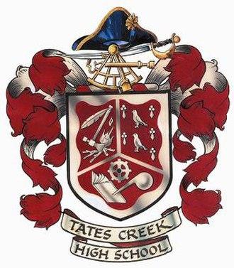 Tates Creek High School - Image: Tates Creek High School crest