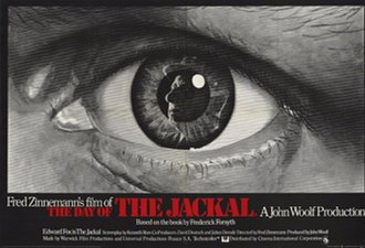 The Day of the Jackal (film) - UK quad poster
