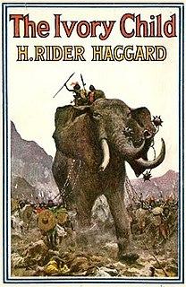 <i>The Ivory Child</i> novel by H. Rider Haggard