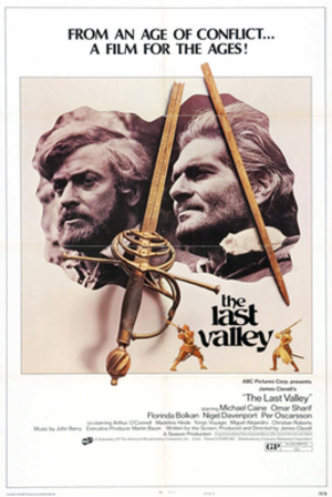 The Last Valley (1971 film) - US release Poster (B)