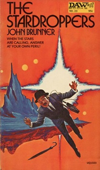 The Stardroppers - Cover of first edition (paperback)