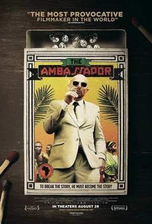 The Ambassador (2011 film) - Theatrical release poster