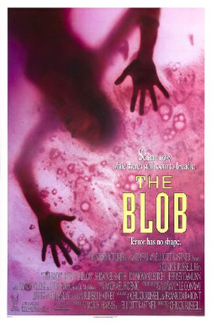 The Blob (1988 film) - Theatrical release poster