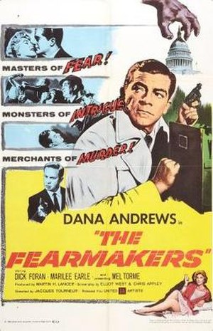 The Fearmakers - Theatrical release poster