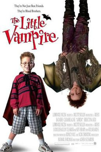 The Little Vampire (film) - Theatrical release poster