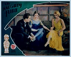 The Naughty Flirt - theatrical poster