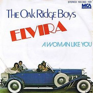 Elvira (song) - Image: The Oak Ridge Boys Elvira