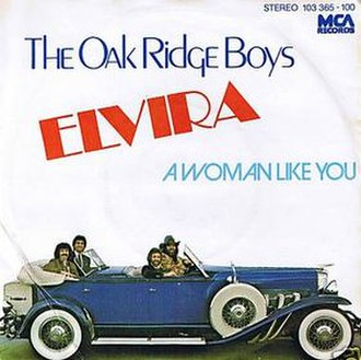 Elvira (song) - Image: The Oak Ridge Boys Elvira