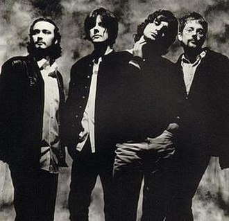 The Seahorses - L-R: Stuart Fletcher, John Squire, Chris Helme, and Andy Watts
