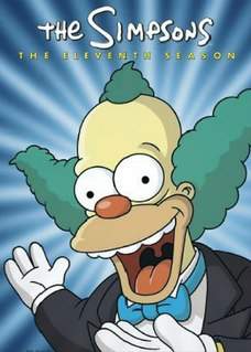 <i>The Simpsons</i> (season 11) Episode list for season of animated series