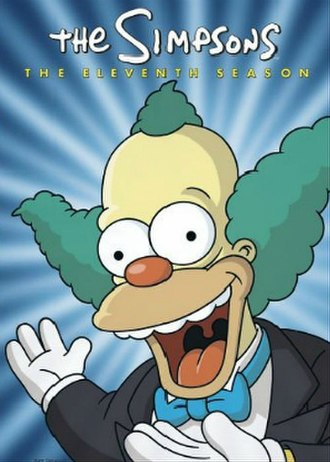 The Simpsons (season 11) - DVD cover