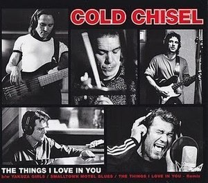 The Things I Love in You - Image: The Things I Love in You by Cold Chisel