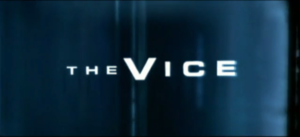 The Vice (TV series) - Title card used for Series 1-4.