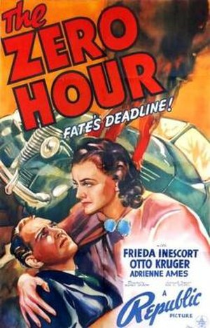 The Zero Hour (1939 film) - Image: The Zero Hour Film Poster