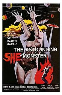 <i>The Astounding She-Monster</i> 1957 film