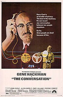 <i>The Conversation</i> 1974 film by Francis Ford Coppola