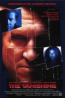 <i>The Vanishing</i> (1993 film) 1993 thriller film directed by George Sluizer