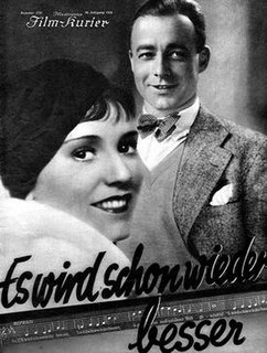 <i>Things Are Getting Better Already</i> 1932 film by Kurt Gerron