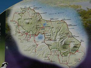 Los Tuxtlas - Los Tuxtlas Biosphere Sign