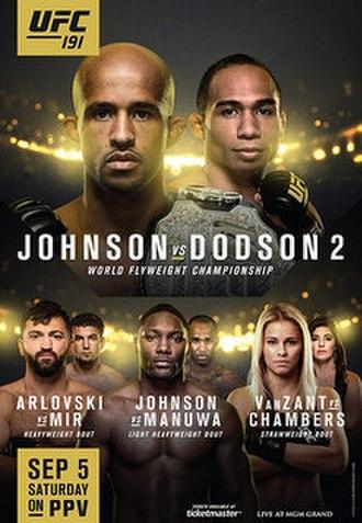 UFC 191 - Image: UFC 191 event poster