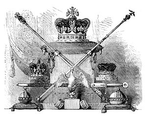 Crown Jewels of the United Kingdom - Image: UK Crown Jewels 1870