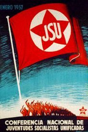 Unified Socialist Youth - JSU poster
