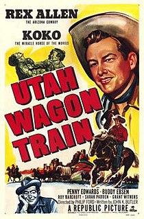 <i>Utah Wagon Train</i> 1951 film by Philip Ford
