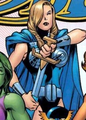 Valkyrie (Marvel Comics) - Image: Valkyrie Sam Par