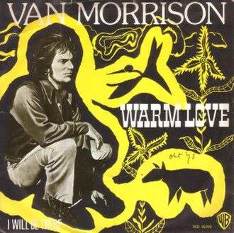 Warm Love - Image: Van Morrison Warm Love single cover