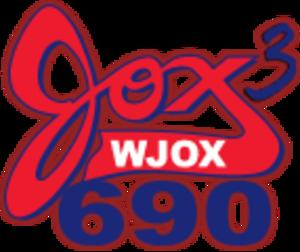 WJOX (AM) - Image: WJOX JOX3690 logo