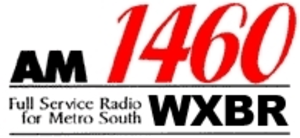 WATD (AM) - WXBR logo from 2006-2012, under the ownership of Business TalkRadio Network.