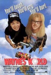 <i>Waynes World</i> (film) 1992 comedy film by Penelope Spheeris