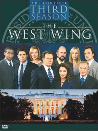 The West Wing (season 3) - Image: West Wing S3 DVD